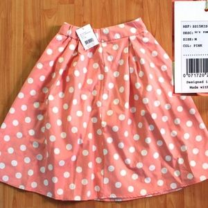 "BNWT Modcloth ""Sweet Yourself"" Polkadot Skirt"